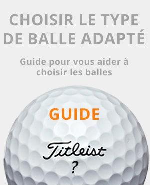 Guide balles De Golf
