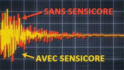 Sensicore – Amortisseur de vibrations dans le shaft
